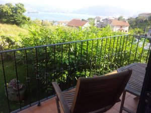 Vistas de la Ría desde el Balcón