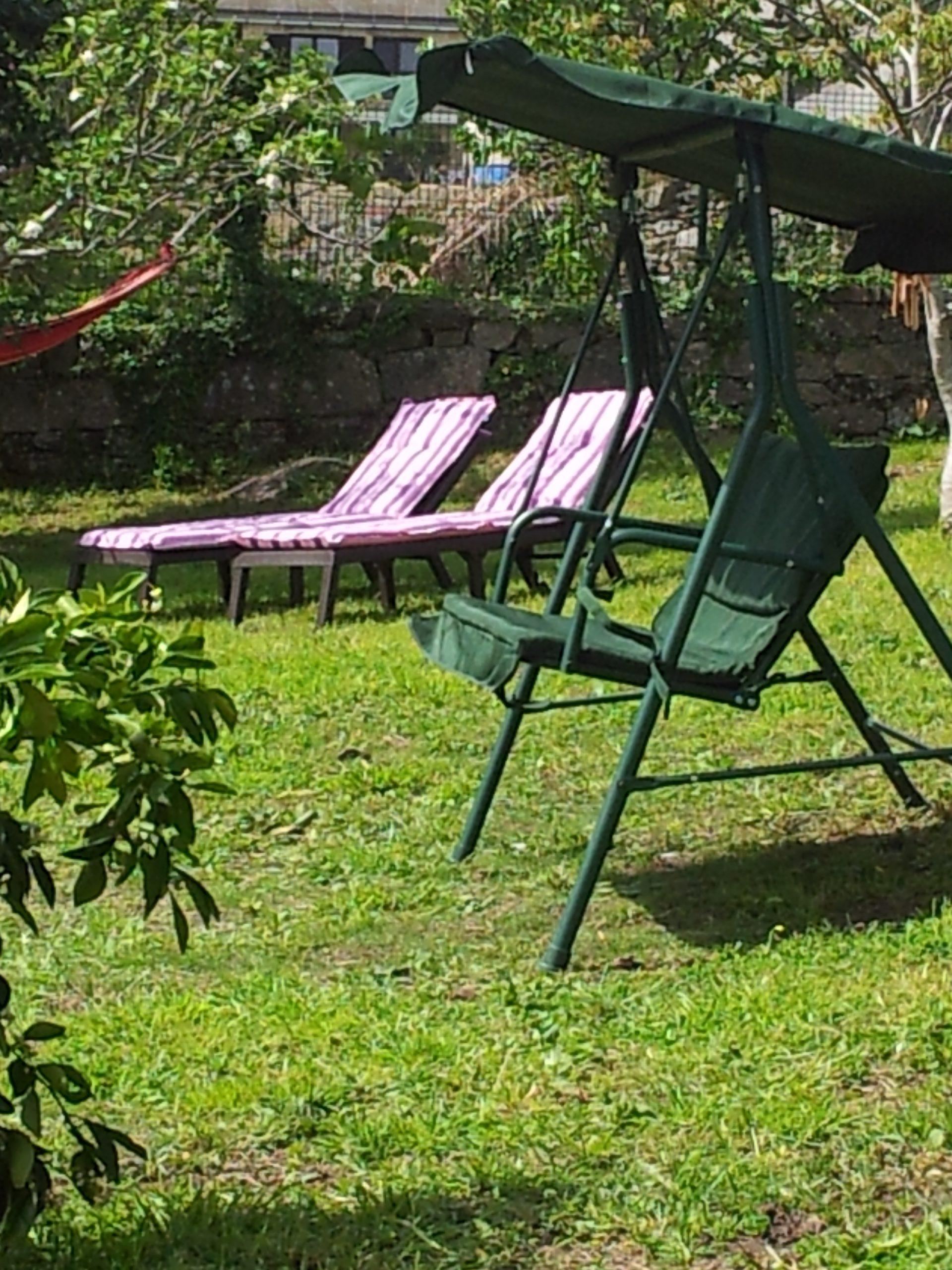 Área descanso Jardín
